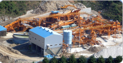 construction waste recycling facility